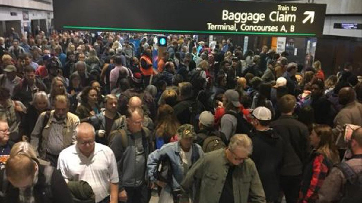 Sensor Malfunction For Concourse Trains = Holiday Travel Nightmare At DIA