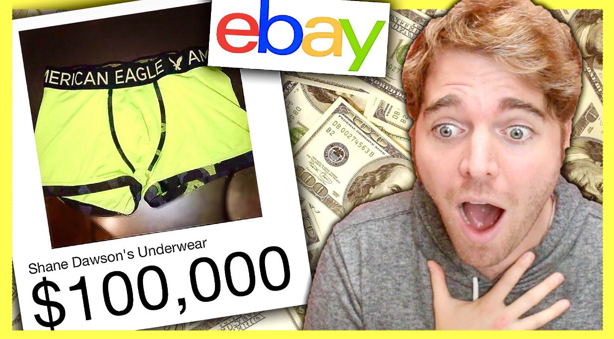 SELLING MY UNDERWEAR ON EBAY FOR $100,000 *not clickbait* *im sorry*  https://t.co/uJ9K4uHqLw https://t.co/fYzMLO1hvD
