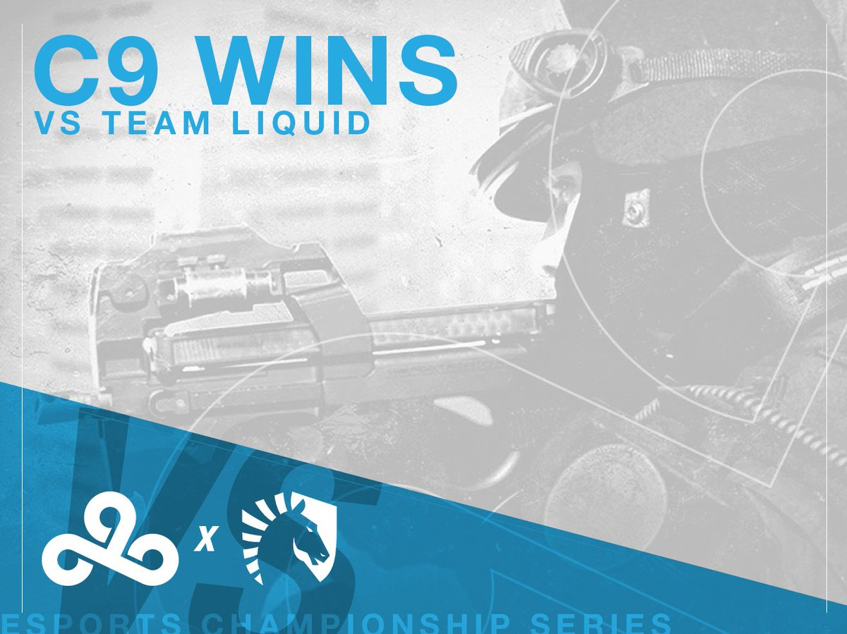 RT @Cloud9: #C9CSGO take down @TeamLiquid 2-0 in their series on Mirage and Cache in #ECS4! #C9WIN https://t.co/CQHgJk3Clq