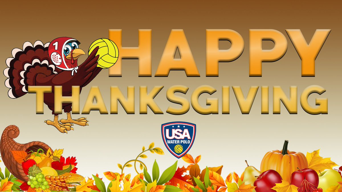 test Twitter Media - #HappyThanksgiving water polo fans! We are thankful for all your support and your love for the great game of water polo! https://t.co/wYv71KY9gX