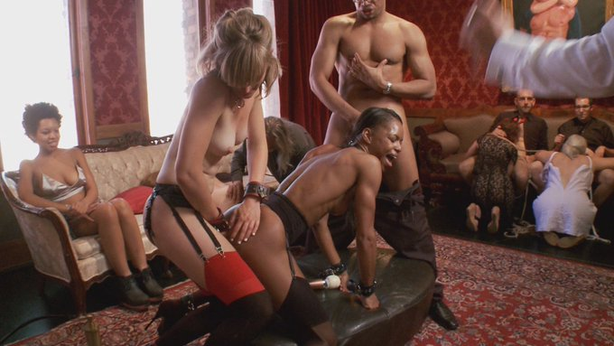 https://t.co/ISSUbcUPjt #MarieLuv @MonaWalesXXX #Black #Fetish #BDSM #Interracial #Orgy #Pantyhose #Stockings
