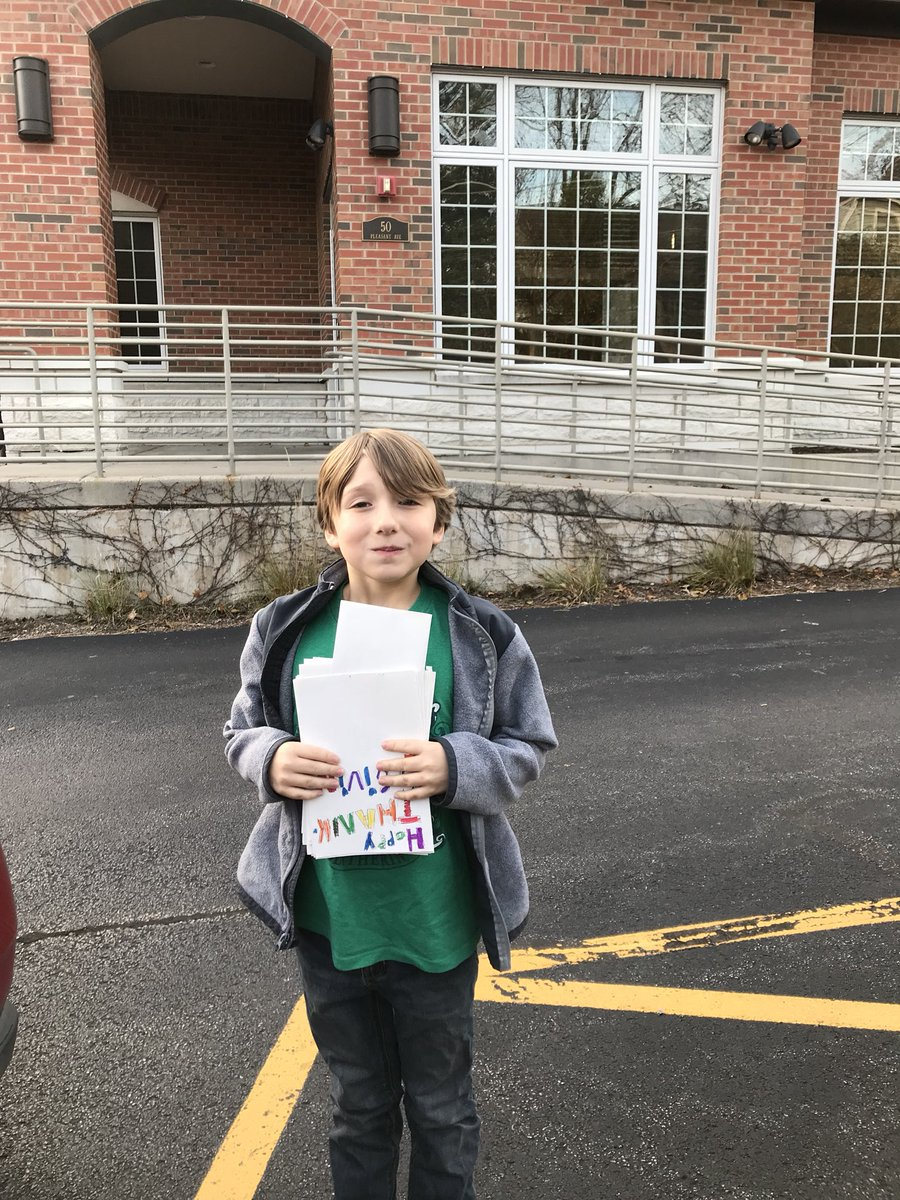test Twitter Media - My little helper delivered the Thanksgiving cards my class made with their reading buddies to a local nursing home. @MrsHoffmanW30 #d30learns https://t.co/Tt9ksxymHF