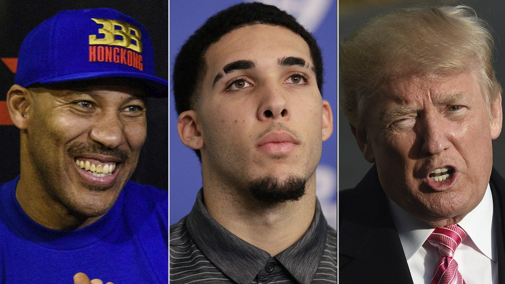 'Poor man's version of Don King': Donald Trump continues war of words with LaVar Ball
