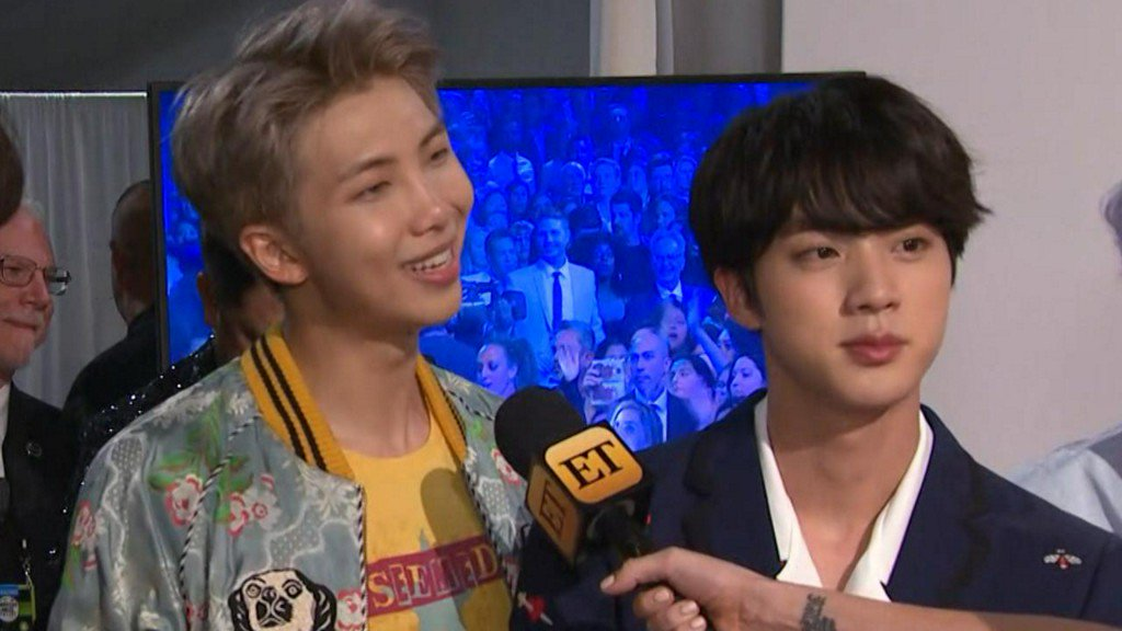 BTS dish on their history-making #AMAs performance: 'It was a dream!' https://t.co/eeKj3pCiaA https://t.co/mR2FjbJogw