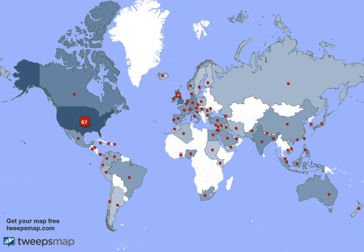 I have 32 new followers from India, and more last week. See 0RFkYGW5nP txW