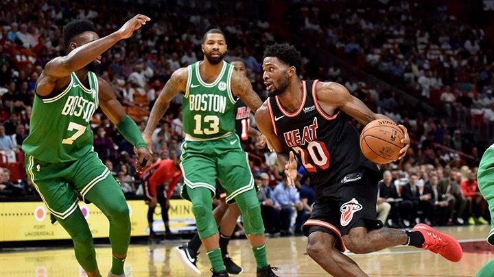 Los Heat ponen fin a la racha  celtics