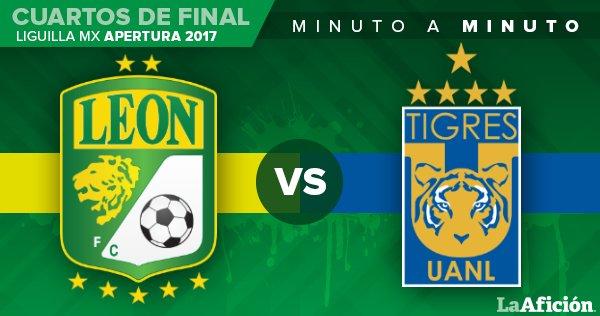 ¡¡¡Arranca la primera parte!!!    @clubleonfc 0-0 @TigresOficial   https://t.co/o0HvNjdbyd https://t.co/iXFvYg5pG2