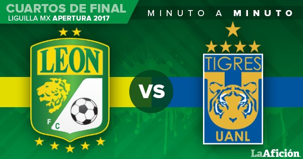 90' Se agregan tres minutos  @clubleonfc 1-1 @TigresOficial   https://t.co/o0HvNjdbyd https://t.co/n3nTR3R7BJ