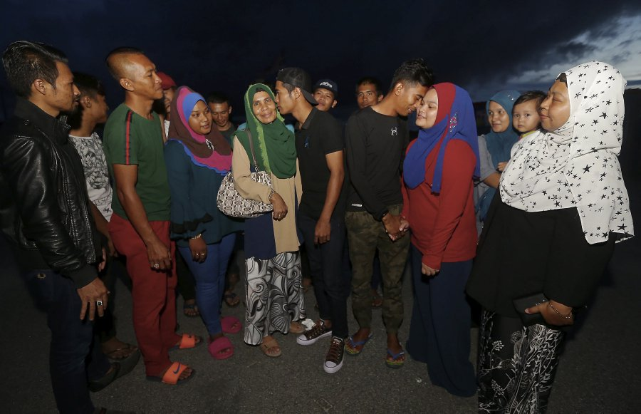 Decision to release fishermen by Malaysia and Indonesia brought cheers