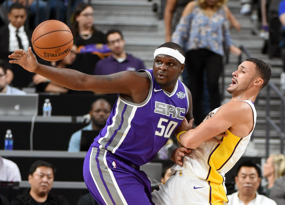 Randolph's 22 Points Leads Kings Past Lakers