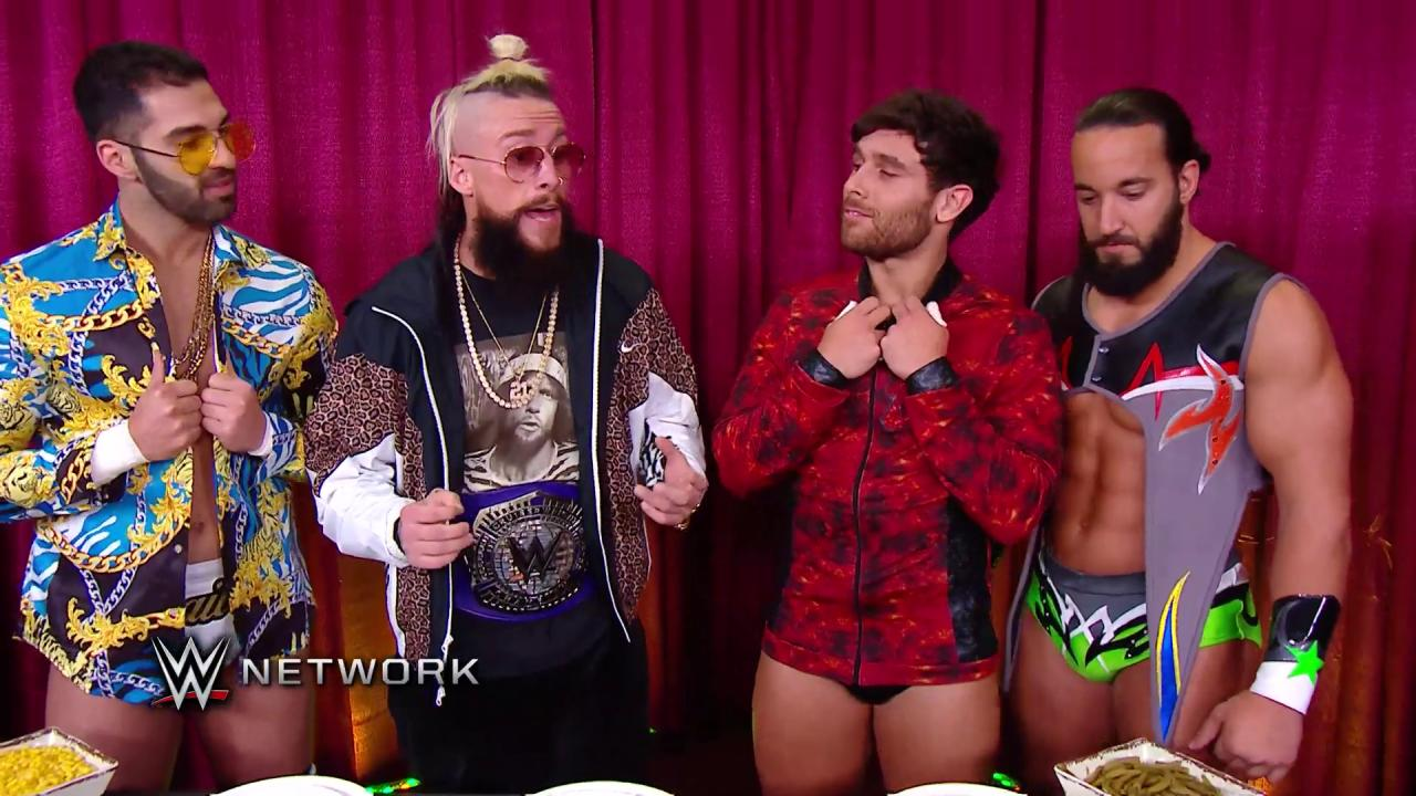 #Cruiserweight Champion @real1 used his connections to hook up his fellow members of the #ZoTrain on #205Live! https://t.co/zOdzSmrfrM