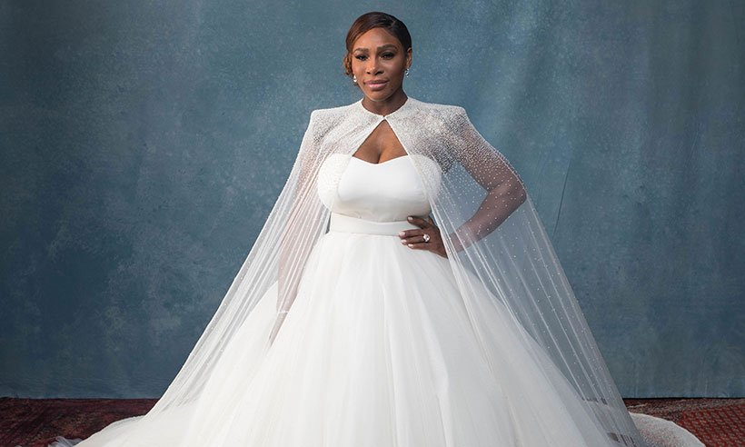 Serena Williams' wedding ring is just... WOW!