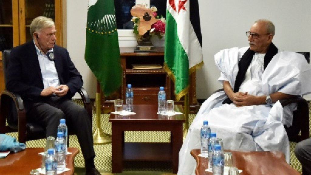 Western Sahara UN envoy says 'encouraged' after first meetings
