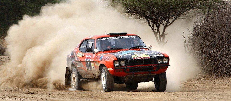 Governor Joho flags off the East African Safari Rally
