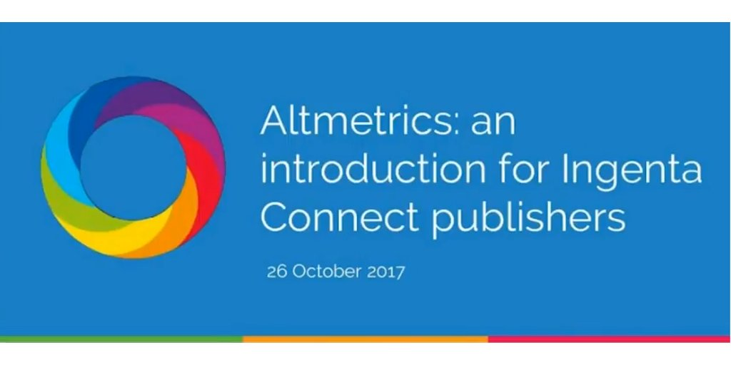 test Twitter Media - Check out our webinar - Altmetrics: an introduction for Ingenta Connect publishers? @altmetric #Library #metrics https://t.co/gIQ3XkJJF3 https://t.co/P1n7x2RENk
