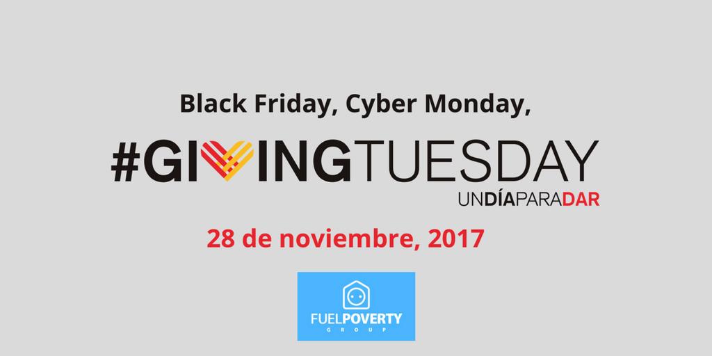 test Twitter Media - 💸💸 Guárdate algo del #BlackFriday para el #GivingTuesday.  Tu granito de arena, es la ayuda de muchos.  ¡Todo gesto suma! 💪🏼💙 @Energia_Justa @Energia_JustaES https://t.co/Aa7nkZrBPw