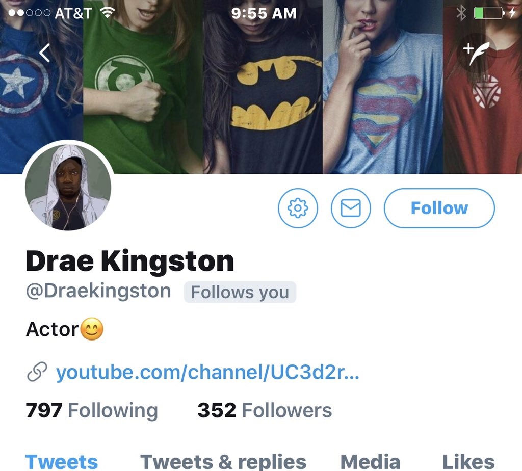 @Draekingston ����clearly you wouldn't be following me if I wasn't! Ya played yaself����♀️�� https://t.co/Tw4ncZx60z