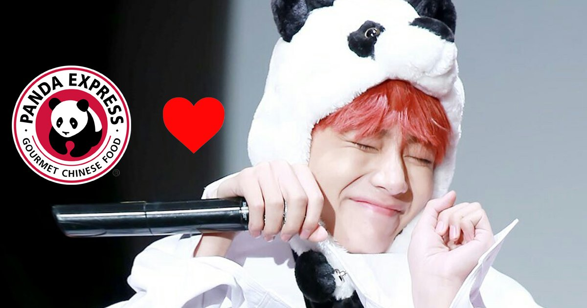 BTS V Says @PandaExpress Is The Best Food In LA, They reply back to his love ��  ➜ Read More: https://t.co/WUZY4nwMNG https://t.co/ig1D2VXRxu