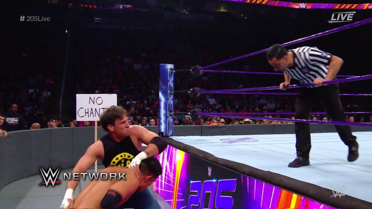 Consider the rule book TOSSED out the window by @DrewGulak and @TozawaAkira in a #StreetFight on #205Live! https://t.co/JRHsRDjXrV