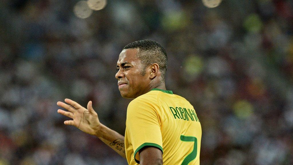 Former Brazil striker Robinho sentenced to 9 years in prison for rape in Italy
