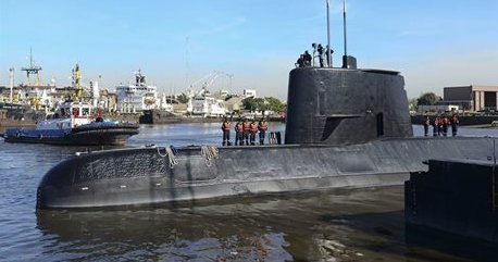 Sound detected in Argentine sub search might be an explosion https://t.co/LxkezoqxMZ https://t.co/a1fN26AGJ2