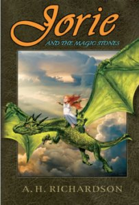 Jorie and the Magic Stones by AH Richardson review and giveaway