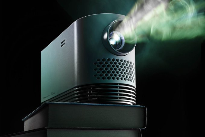 It's time to ditch your TV and get this perfect projector instead https://t.co/eMss63wJtn https://t.co/RGFG1a5v8a