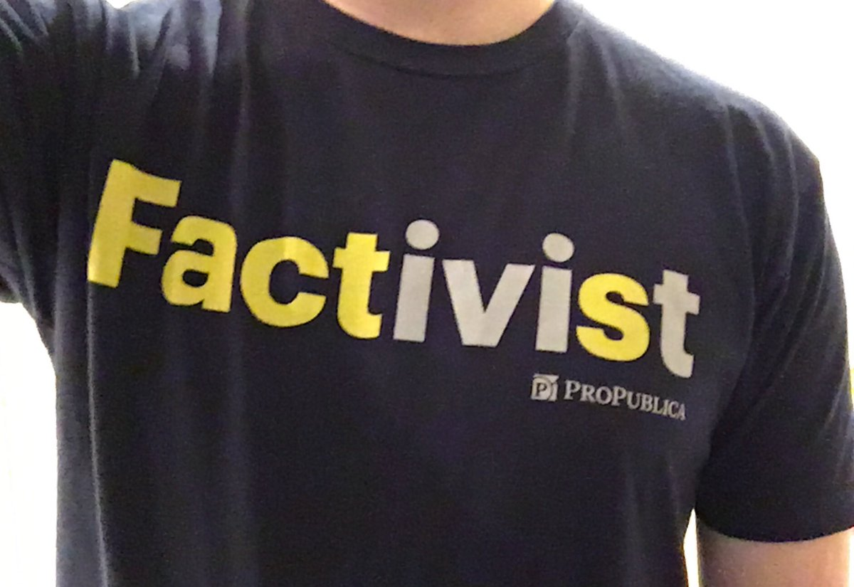 RT @charlesornstein: Thankful to be a @ProPublica Factivist today and everyday. https://t.co/LIUC0lYQA5 https://t.co/RCIPcykquA