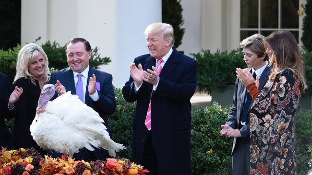 On the Thanksgiving menu at Mar-a-Lago: Turkey, mashed potatoes, and Florida stone crab https://t.co/cbuo63FYom https://t.co/zCmxjwJ0CZ