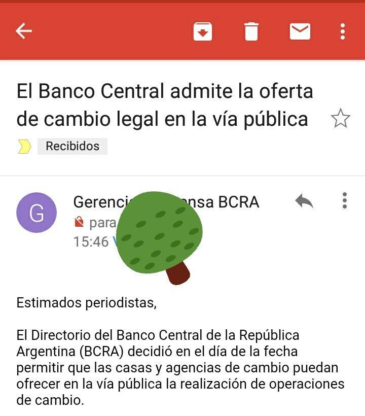 RT @estebanrafele: El Banco Central legaliza los arbolitos. 🌳🌴 https://t.co/ep8zcHYqdL