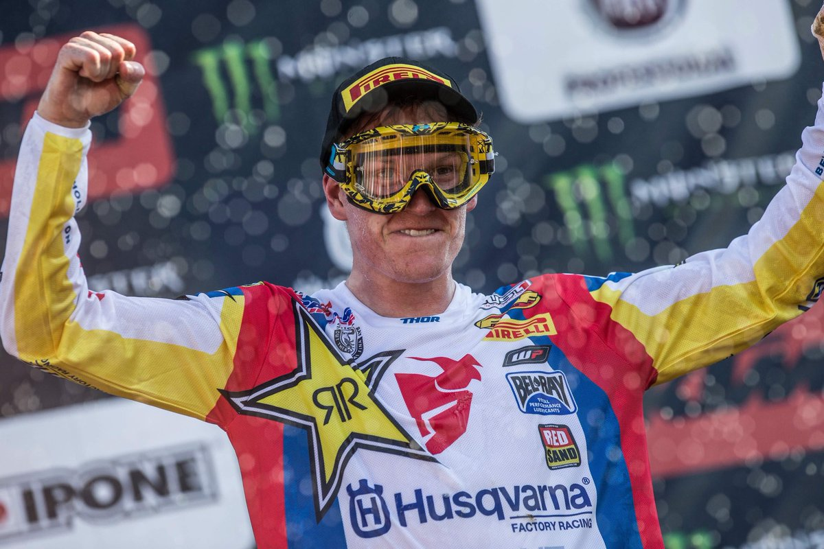 Throwback to my first MXGP podium in Italy! https://t.co/KmSZK7jQv1