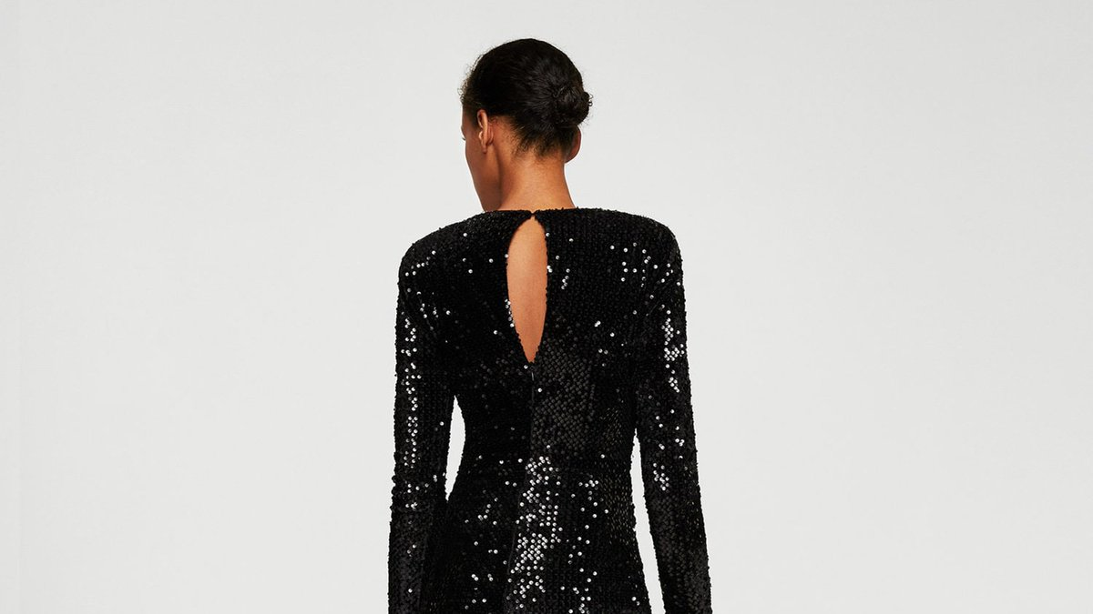This 35 Mango dress will win over all sequin haters