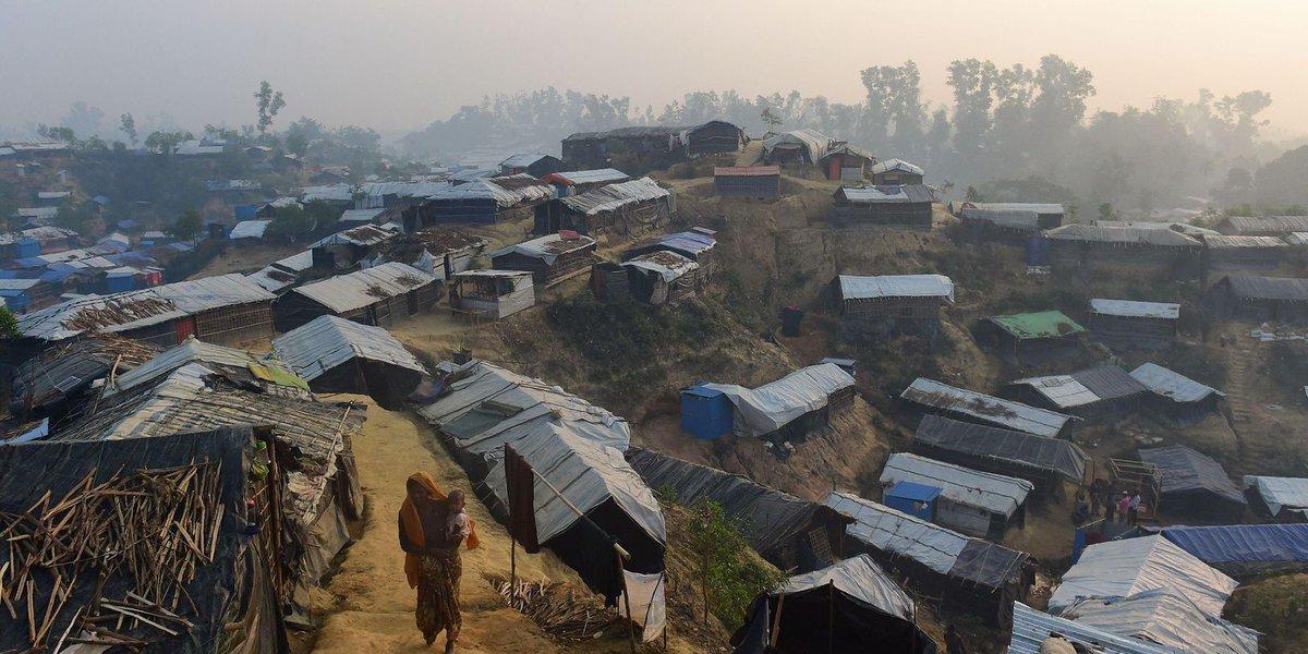 Rohingya Muslims who fled Myanmar wary of returning