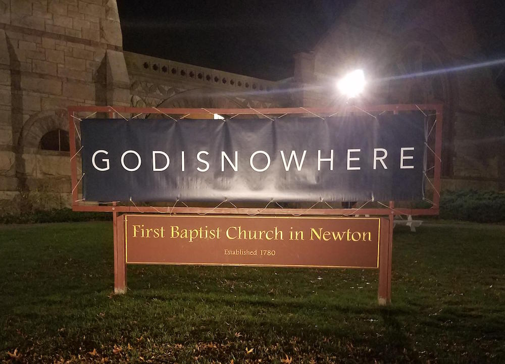 test Twitter Media - Two instances of orthographic ambiguity: GODISNOWHERE and Chen Fake: From Michael Carr: The devil's in the kerning.… https://t.co/g7dg1FCvOV https://t.co/u1sUV72QOT