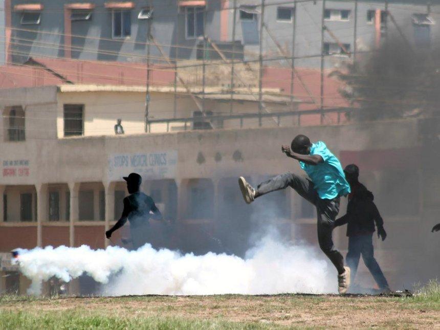 Nyong'o bans demos in Kisumu, say goons take advantage to loot
