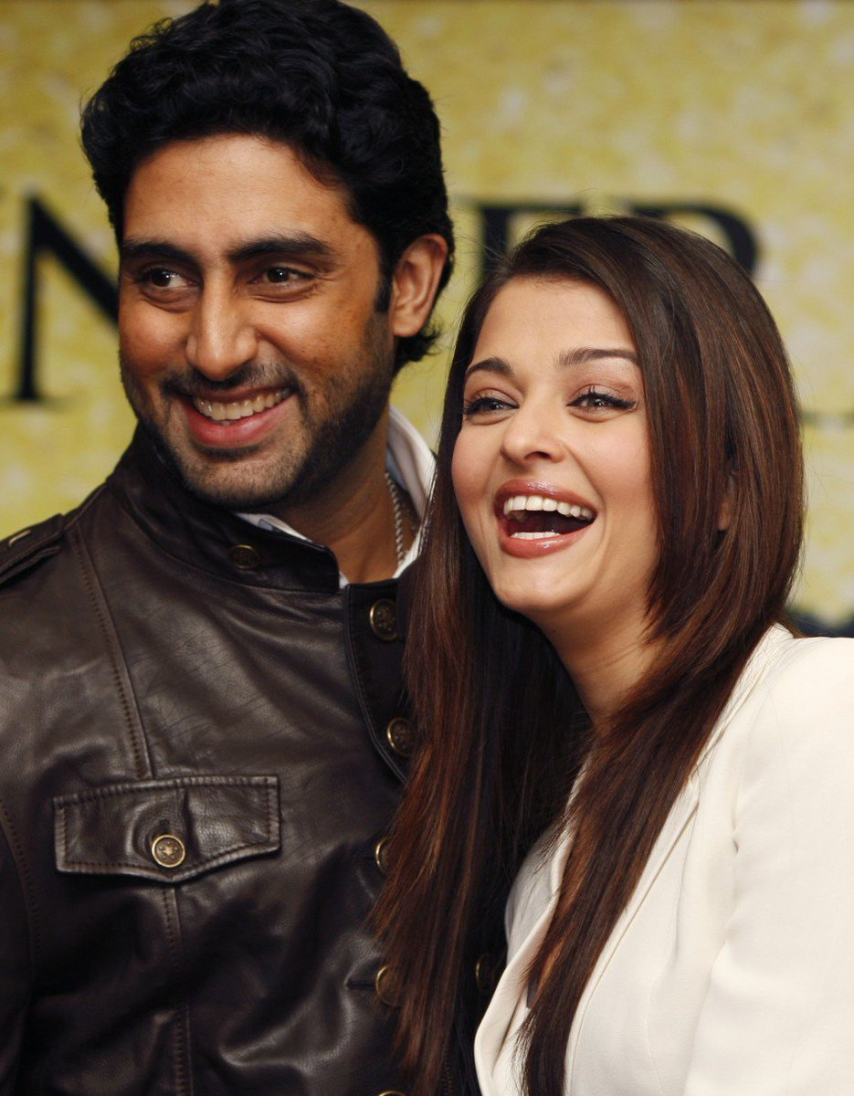 "test Twitter Media - Abhishek Bachchan talks about his relationship with Ash, ""I've never asked who fell in love first, actually. I'll have to ask her that. But the moment we got together we knew this was it."" When you know its meant to be! #Shaadi celeb #AbhishekBachchan #AishwaryaRaiBachchan https://t.co/s5B8gqtoIA"