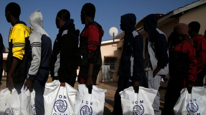 Rwanda offers refuge to enslaved Libya migrants