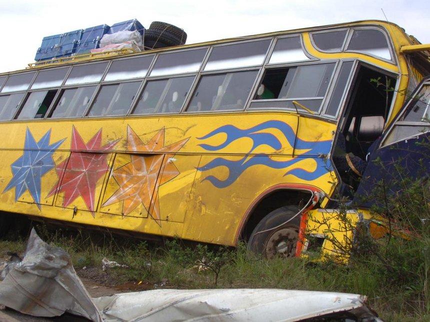 One dead, 12 injured in Salgaa black spot