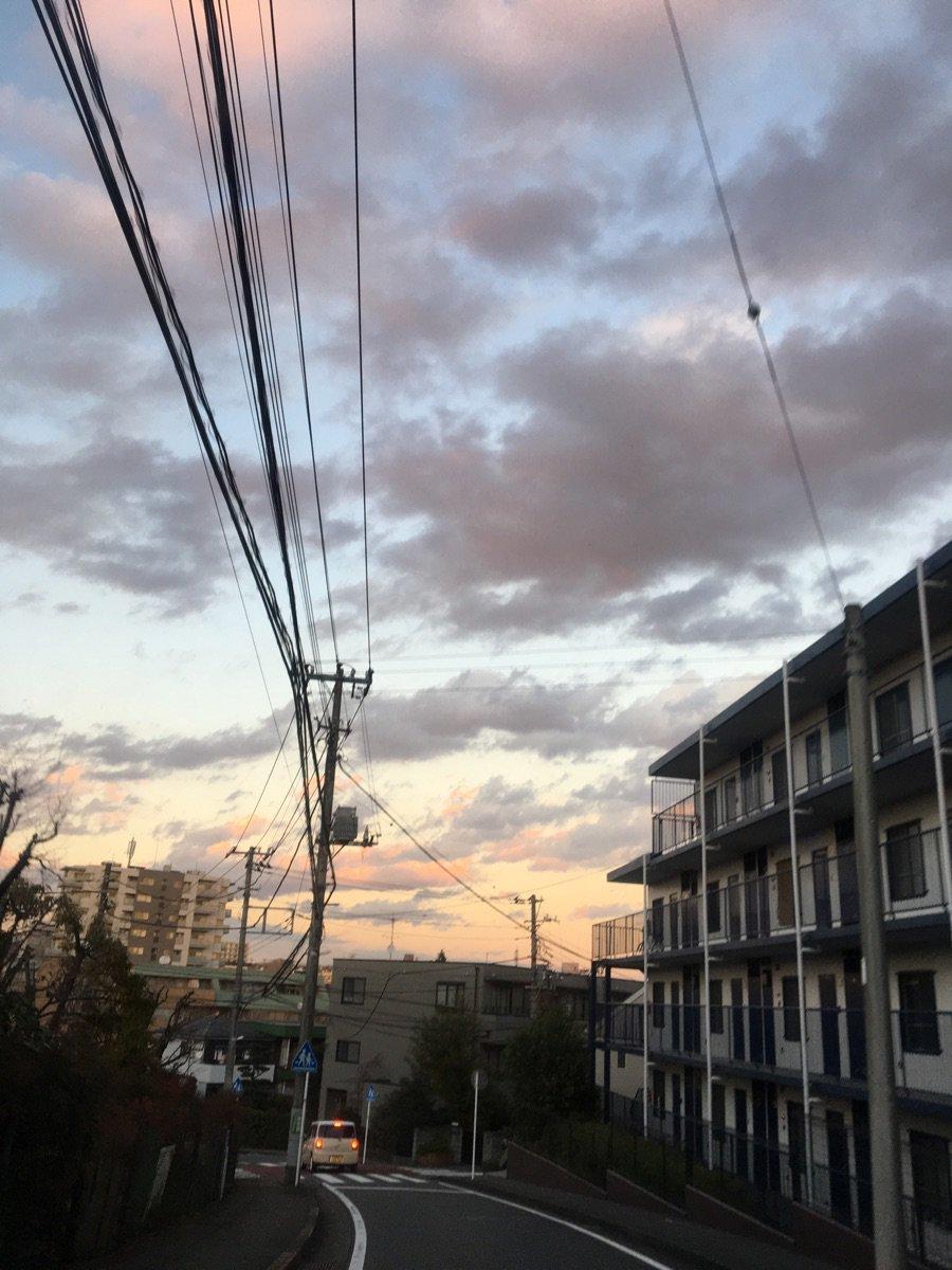 今日は雲がキレイ! ZvPzfFoKr9