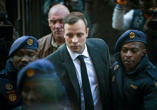 Pistorius' prison sentence increased to 13 years, 5 months