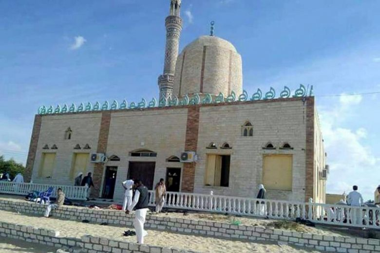 At least 184 killed after militants target mosque in Egypt's north Sinai