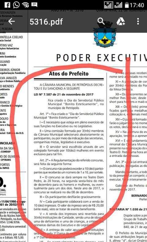 Prefeito de Petrópolis,aliado de Picciani cria Decreto inédito 👇 https://t.co/he9WY5FtG0