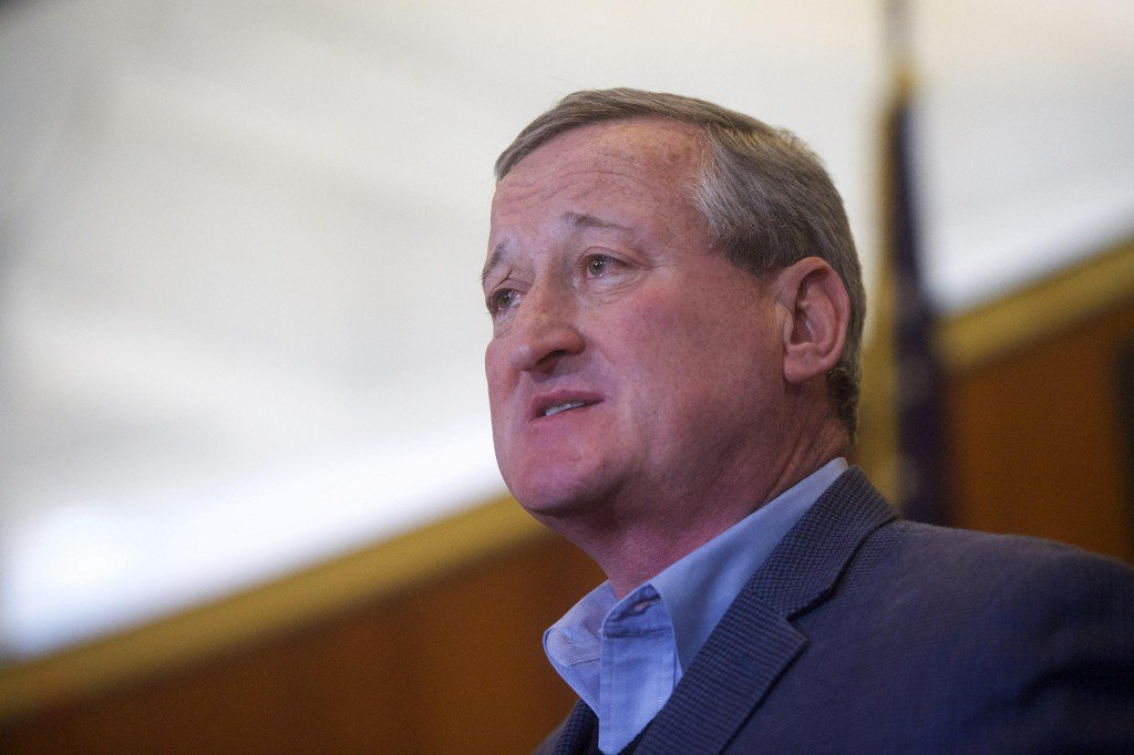 "Philadelphia mayor says Trump is a ""punk"" and ""bully"" over immigration policies"