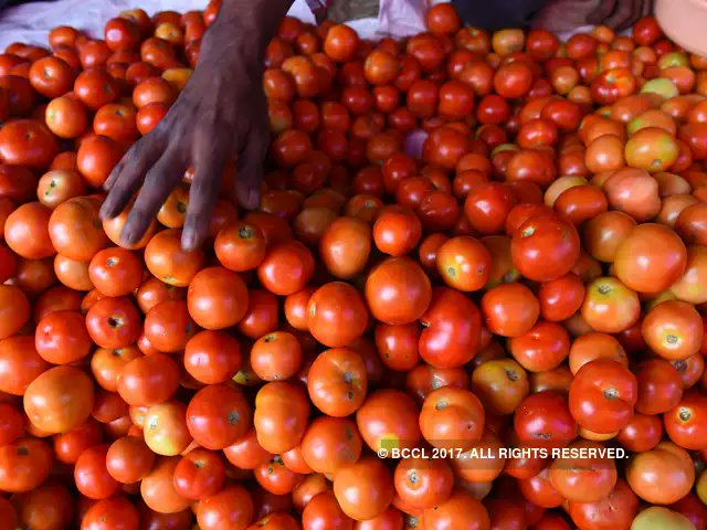 #Tomato prices harden, hit Rs 80 per kg in #Delhi