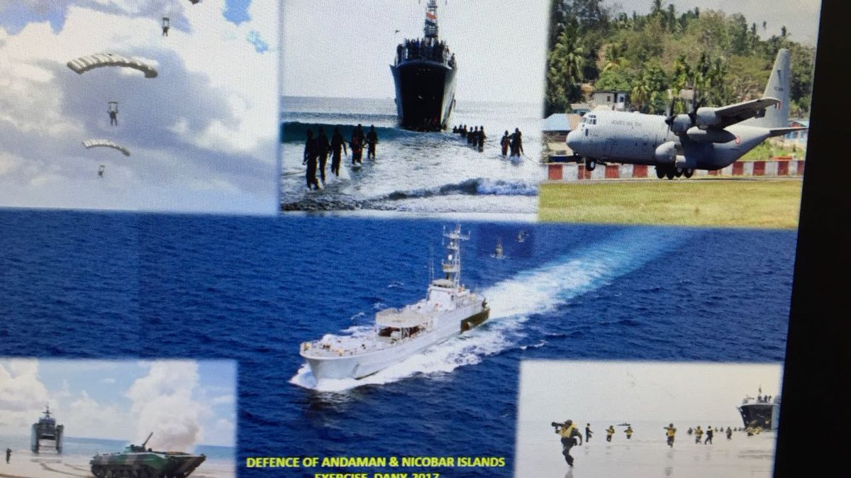 India's show of strength in Andaman & Nicobar Islands, holds tri-service exercise to checkmate China