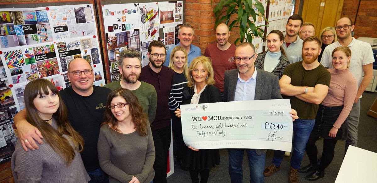 test Twitter Media - Huge thanks to @EquatorDesignUK for raising £6,840 for the survivors of the Manchester Arena attack. Your money will go a long way to helping people affected by the tragedy. Find out how your money is spent here https://t.co/UYJdTxPrym https://t.co/8WiAg2Pk0H