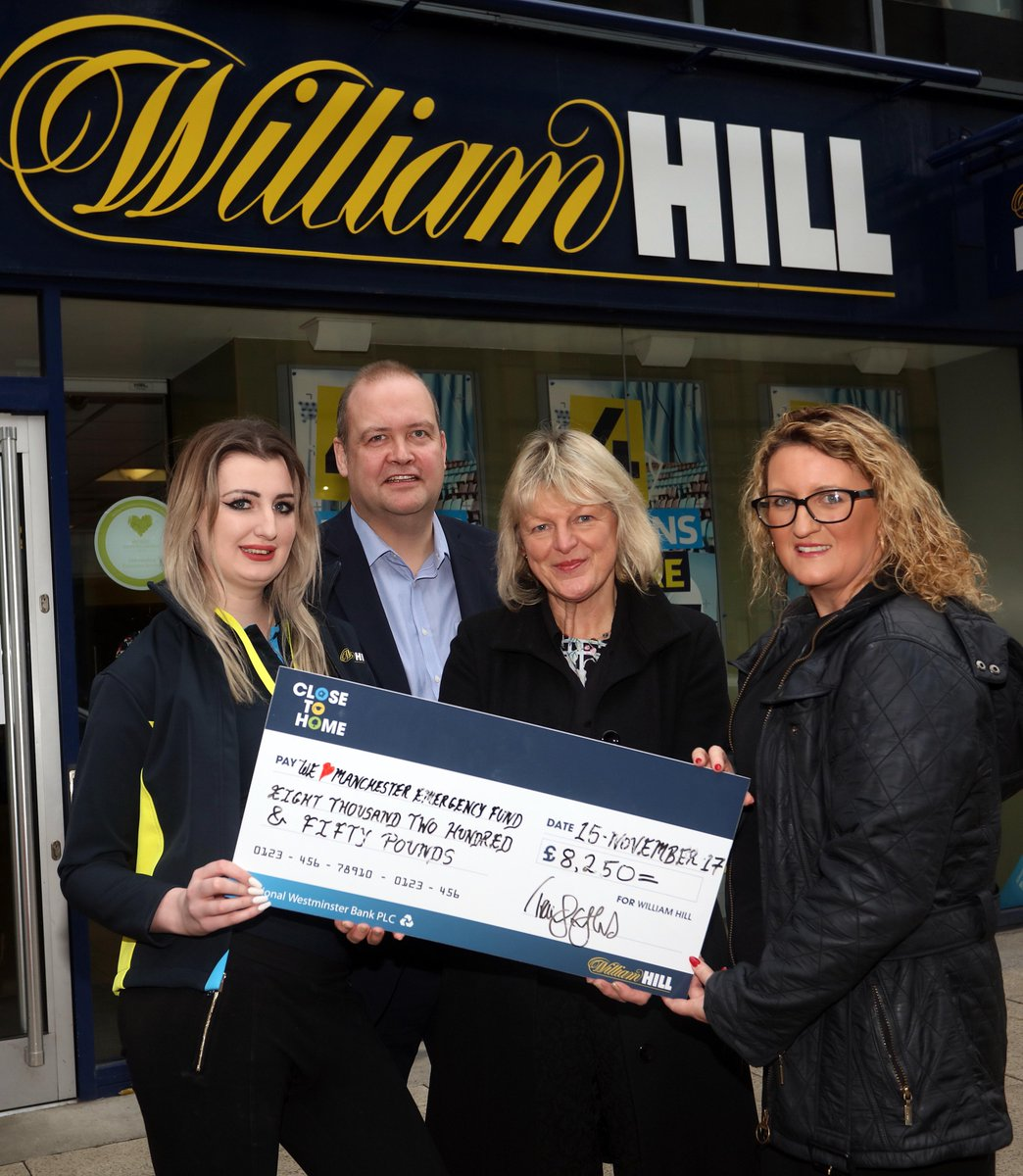 test Twitter Media - WOW!!! @WilliamHill raised a whopping £8,000 to help those affected by the Manchester Arena attack. Your support will go a long way. THANK YOU. https://t.co/fcdNPxYlMn https://t.co/wLjtXXHVbD