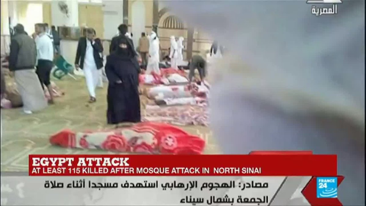 ?? Egypt: ''Scores killed'' after mosque attack in Sinai