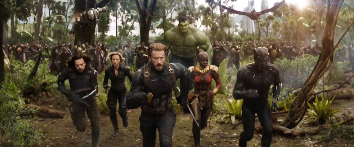 The First Screenshots From The 'Avengers: Infinity War