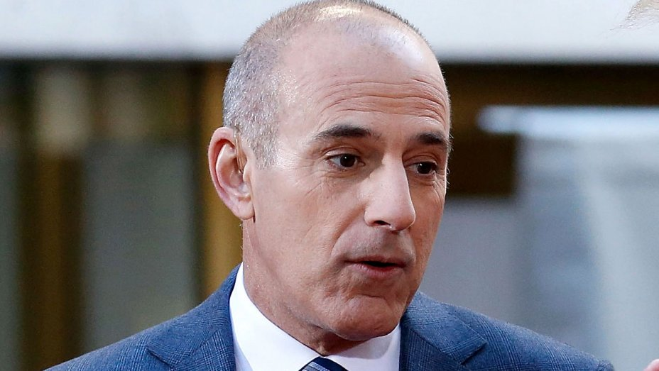 NBC not planning to pay out Matt Lauer's salary